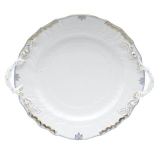 Herend Chop Plate With Handles