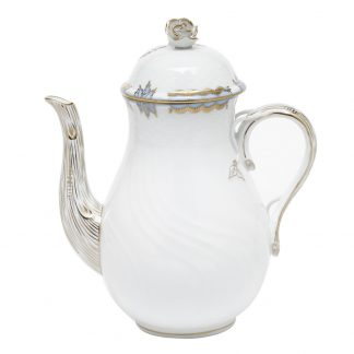 Herend Coffee Pot With Rose