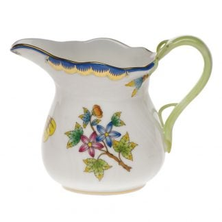 Herend Creamer Blue