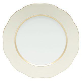 Herend Dessert Plate Beige