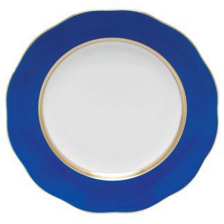 Herend Dessert Plate Cobalt Blue