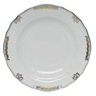 Herend Dessert Plate Light Blue