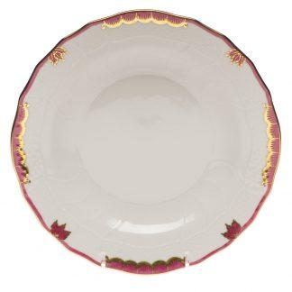 Herend Dessert Plate Pink