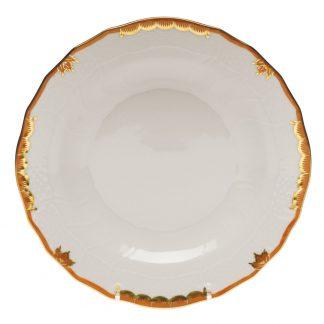 Herend Dessert Plate Rust