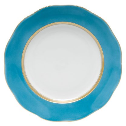 Herend Dessert Plate Turquoise
