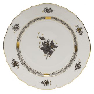 Herend Chinese Bouquet Black