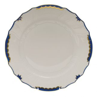 Herend Dinner Plate Blue