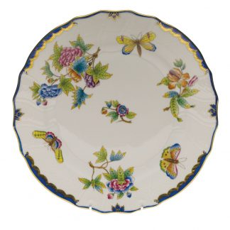 Herend Dinner Plate Blue