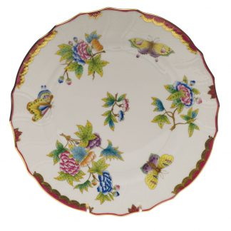 Herend Dinner Plate Pink