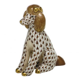 Herend Dogs Poodle