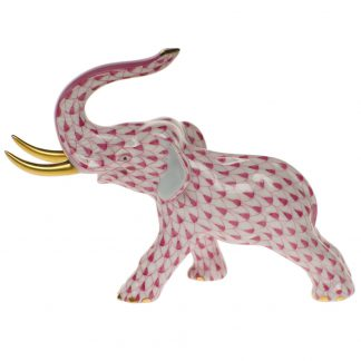 Herend Elephant With Tusks