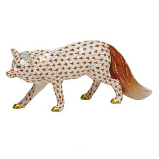 Herend Foxes Observant Fox