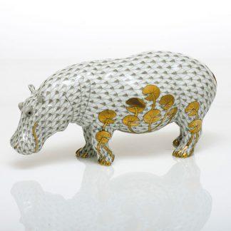 Herend Hippopotamus