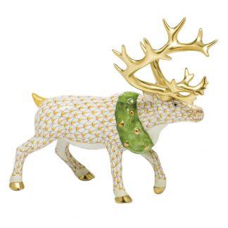 Herend Holiday Reindeer