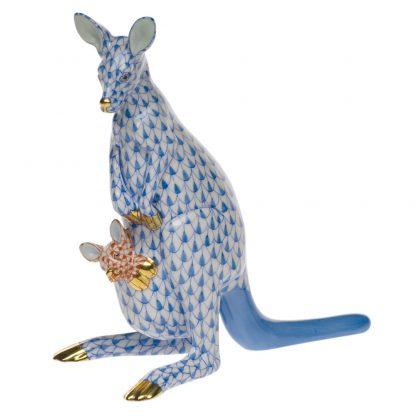 Herend Kangaroo And Baby
