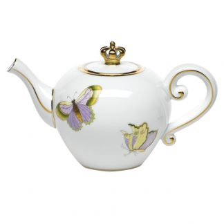 Herend Limited Edition Tea Pot With Crown