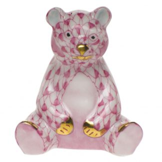 Herend Miniature Baby Bear Sitting