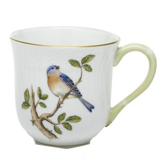 Herend Mug Bluebird