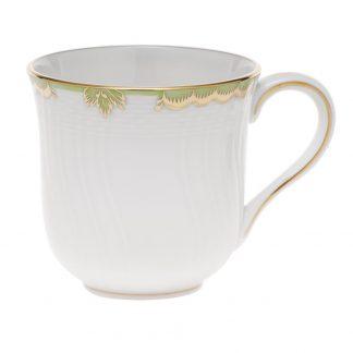 Herend Mug Green