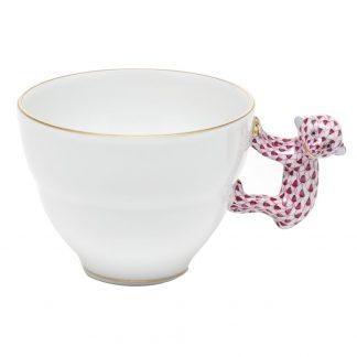 Herend Mug  With Monkey Handle