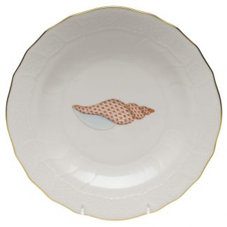 Herend Plate Tulip Shell