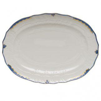 Herend Platter Blue