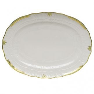 Herend Platter Green