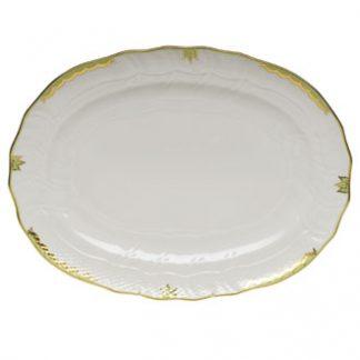 Herend Platter Green