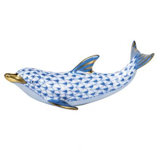 Herend Playful Dolphin