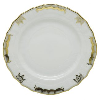 Herend Princess Victoria Gray Bread And Butter Plate