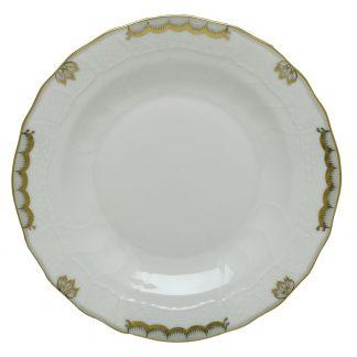 Herend Princess Victoria Gray Dessert Plate
