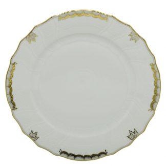 Herend Princess Victoria Gray Dinner Plate