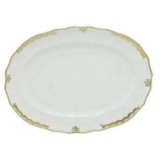 Herend Princess Victoria Gray Platter