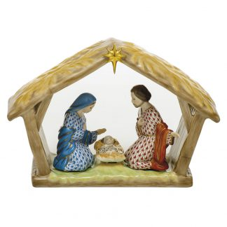 Herend Religious Nativity Scene