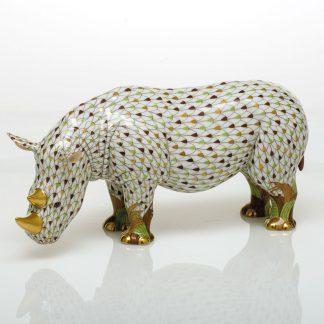 Herend Rhinoceros