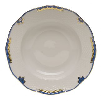Herend Rim Soup Plate Blue