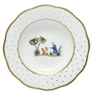 Herend Rim Soup Plate Motif 03