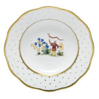 Herend Rim Soup Plate Motif 04