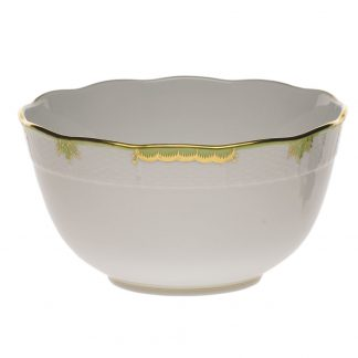 Herend Round Bowl Green