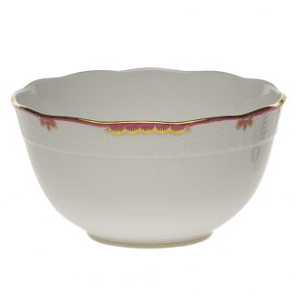 Herend Round Bowl Pink