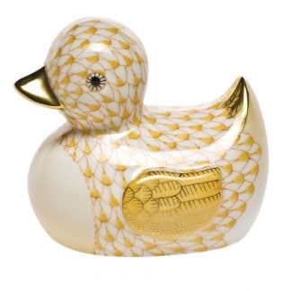 Herend Rubber Ducky