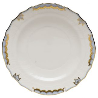Herend Salad Plate Light Blue
