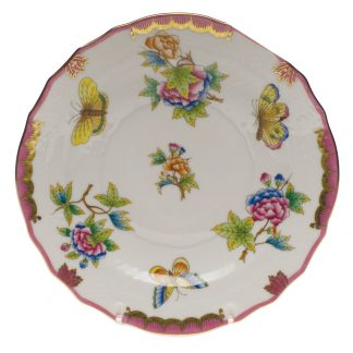 Herend Salad Plate Pink