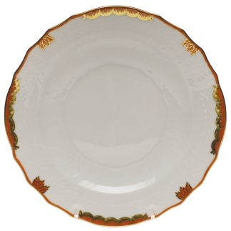 Herend Salad Plate Rust