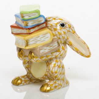 Herend Scholarly Bunny