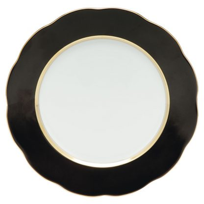 Herend Service Plate Black