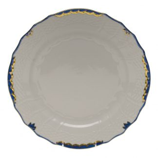 Herend Service Plate Blue