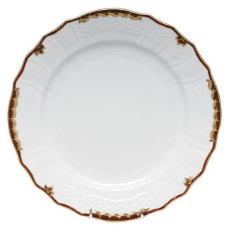 Herend Service Plate Brown