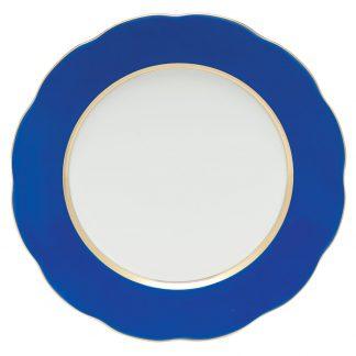 Herend Service Plate Cobalt Blue