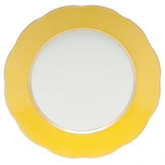 Herend Service Plate Lemon